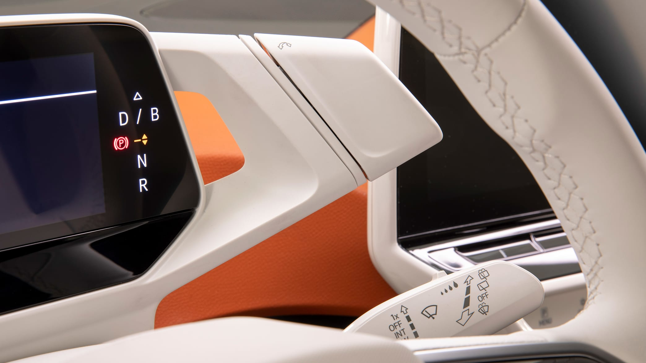 Automatikwahlhebel eines VW ID.3