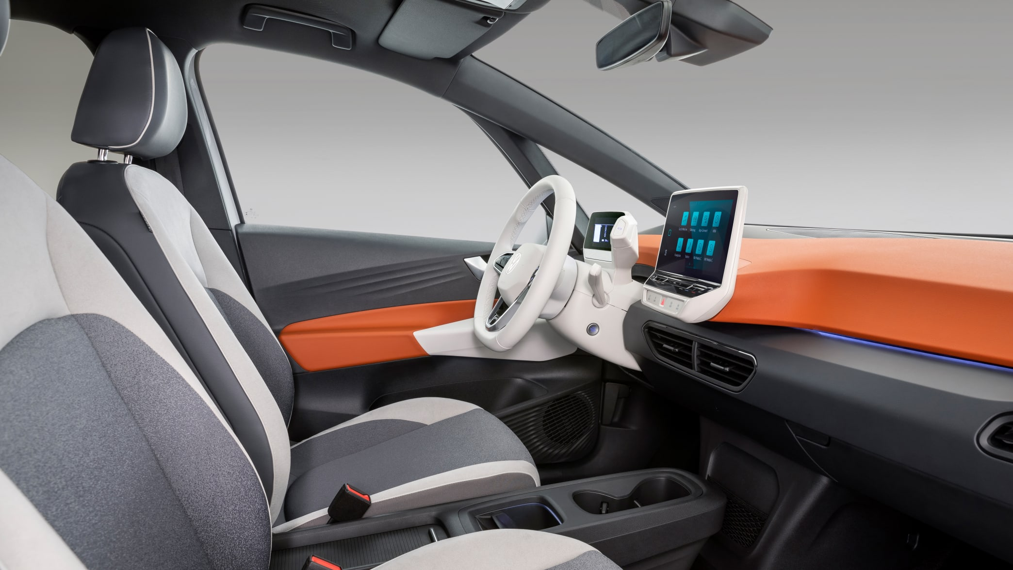 Cockpit eines VW ID.3