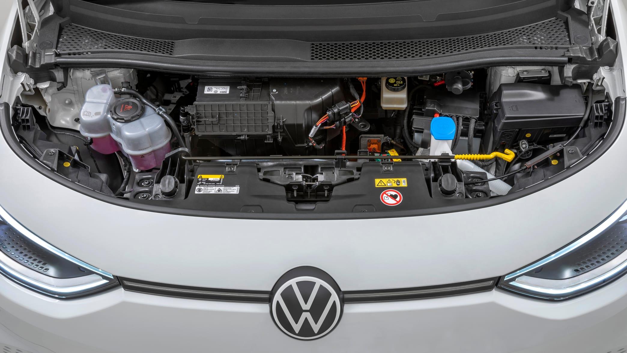 Blick unter die Motorhaube eines VD ID.3