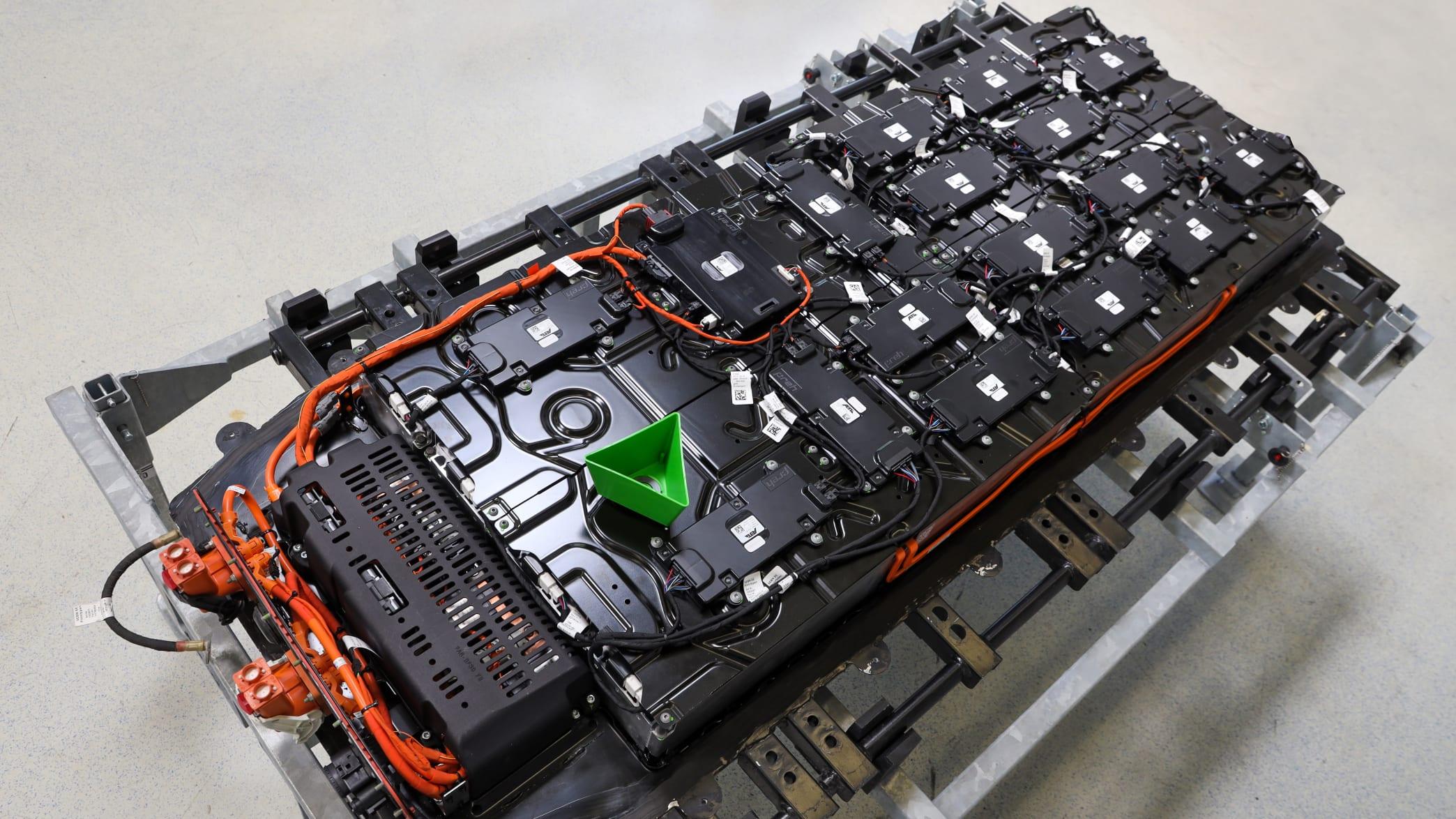 Batterie des Elektro VW T6