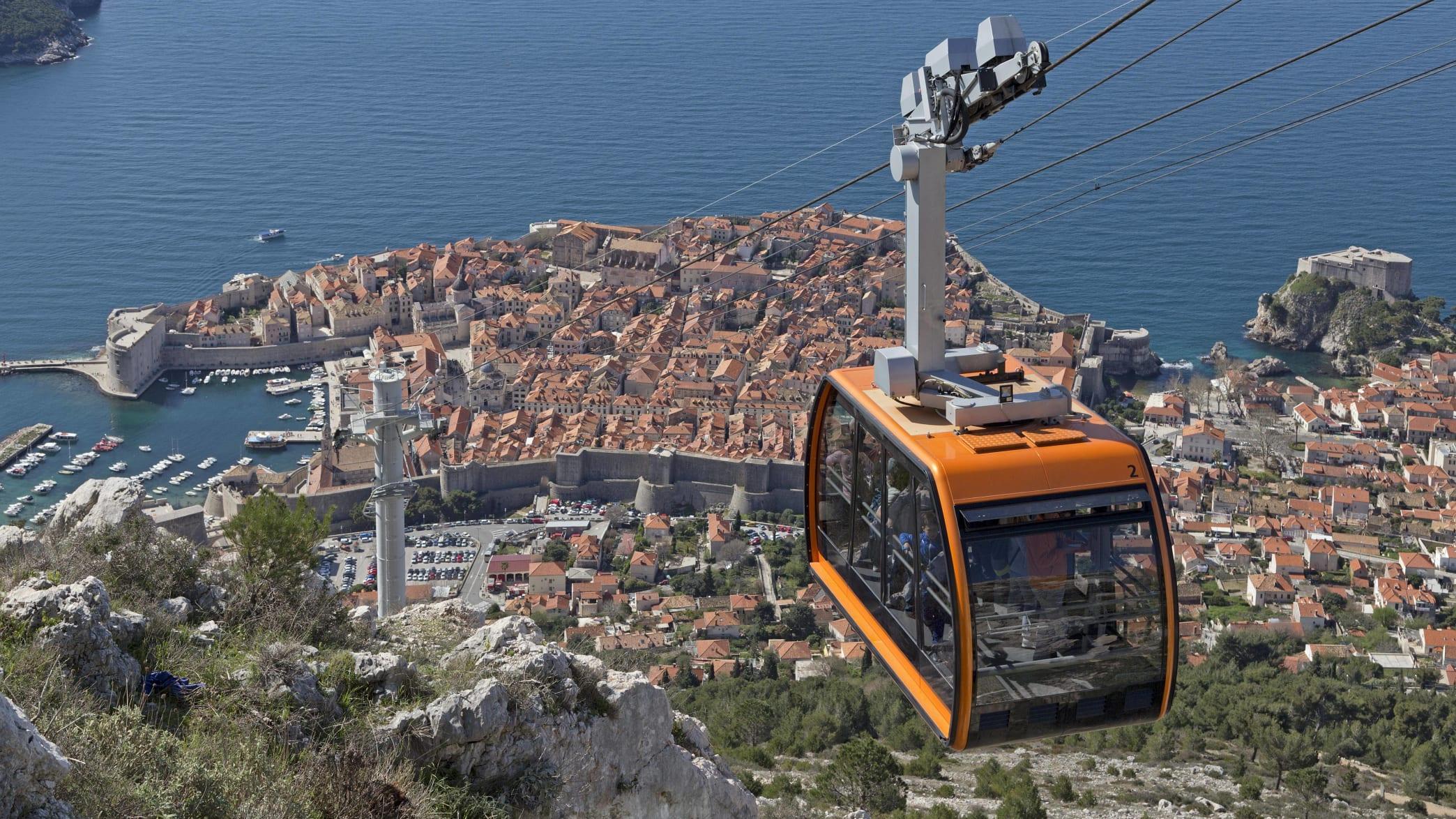 Seilbahn in Dubrovnik