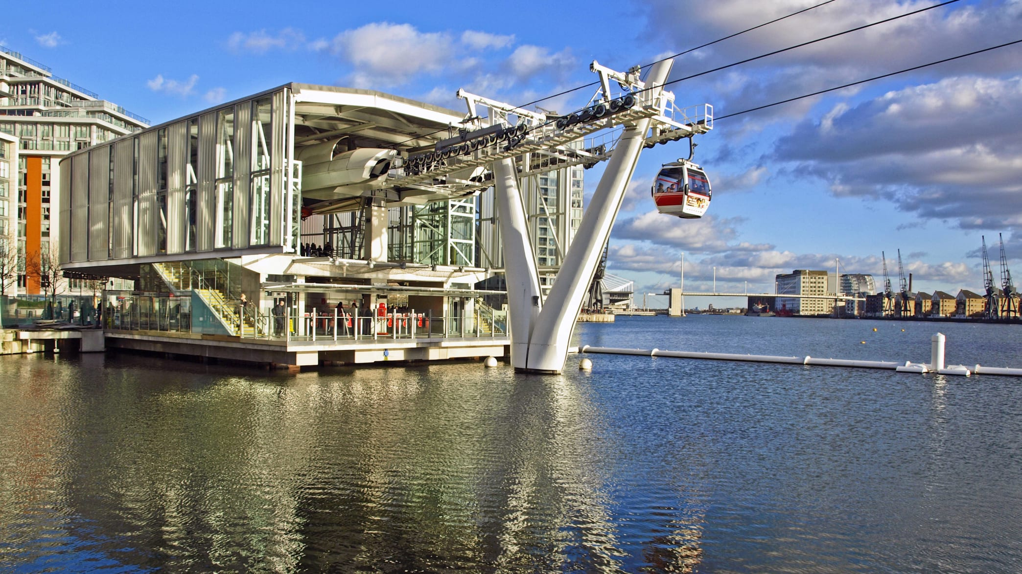 Seilbahn in London