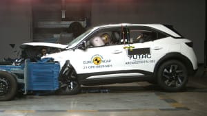 Der Opel Mokka im Crashtest