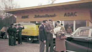 historisches Bild vom ADAC