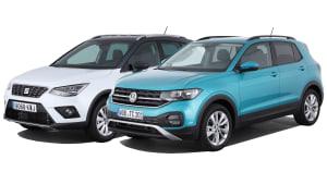 Vergleichstest Seat Arona VW T-Cross