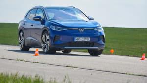 VW ID4 im Ausweichtest