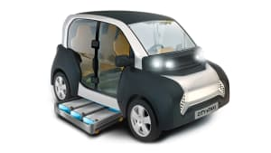 Zeichnung des ACM City Elektromobil