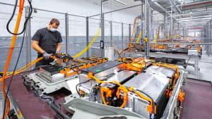 Batteriezellen-Recycling bei Opel