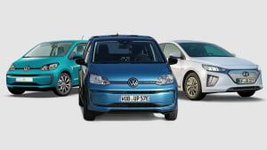 VW eco Up, VW e-up und Hyundai Ioniq Elektro