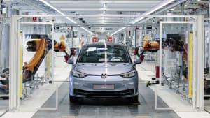 Produktion eines VW ID.3