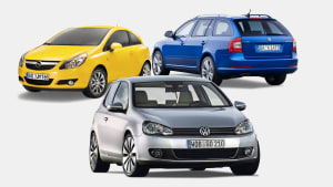 Diese Autos von VW, Opel und Skoda waren die Bestseller der Gebrauchtwagen 2010