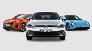 Kollage von 3 Autos