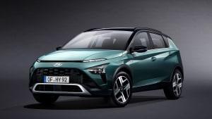 Front- und Seitenansicht des Hyundai Bayon