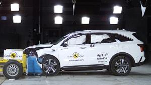 Kia Sorento beim Euro NCAP Chrashtest