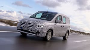 Noch getarnter Mercedes Citan T-Klasse