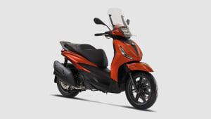 Neuer Roller 2021 Piaggio Beverly
