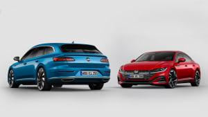 Der neue VW Arteon 2020 als Kombi und Limousine