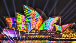 Lichterfestival in Sydney