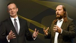Volker Wissing und Anton Hofreiter im ADAC Interviewformat