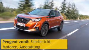Youtube Video Vorschau Preview Peugeot 2008 in Fahrt