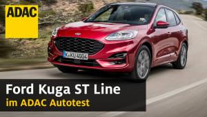 YouTube Thumbnail zum Ford Kuga ST Line