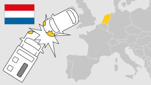 Unfall im Ausland, Holland, Aufmacher, Landkarte