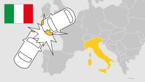 Unfall im Ausland, Italien, Aufmacher, Landkarte