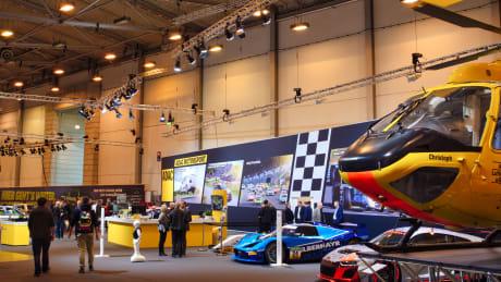 Der ADAC-Stand bei der Essen Motor Show 2019