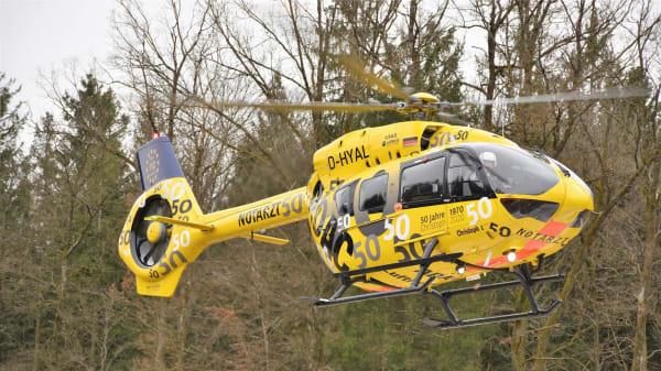 ADAC Hubschrauber der Luftrettung Christoph 1