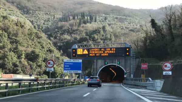 ADAC Tunneltest Castelletto Italien