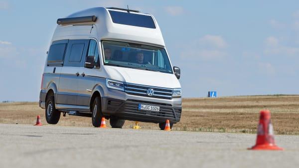 Testfahrt VW Grand California 600