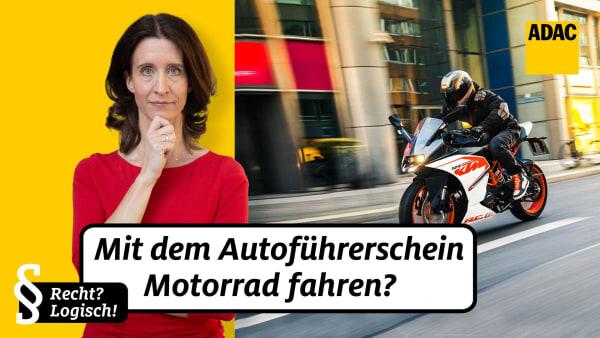 mit dem Autoführerschein kann man Motorräder bis 125 Kubik  fahren