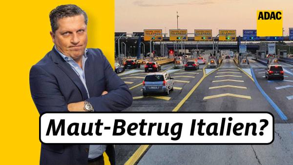 ADAC Jurist Bernd Gstatter klärt auf über die Maut abzocke in Italien