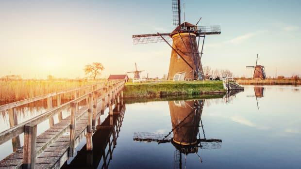Windmühlen Rotterdam