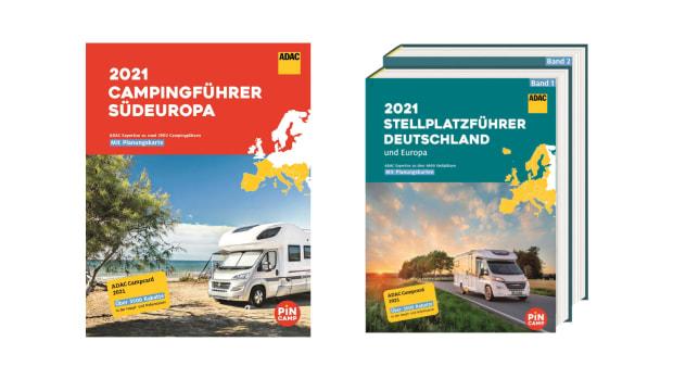ADAC Campingführer & ADAC Stellplatzführer 2021