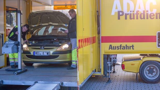 Mobiler Technischer Prüfdienst des ADAC Sachsen