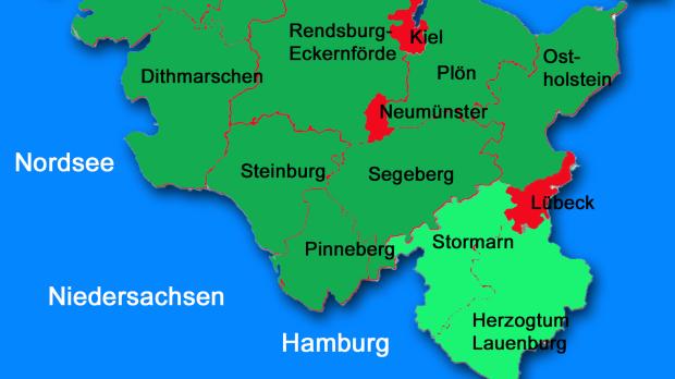 ADAC Schleswig-Holstein Verbreitung