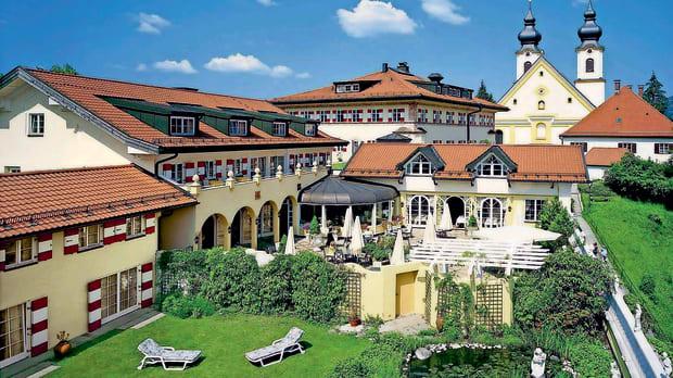Die Residenz Heinz Winkler in Aschau im Chiemgau.
