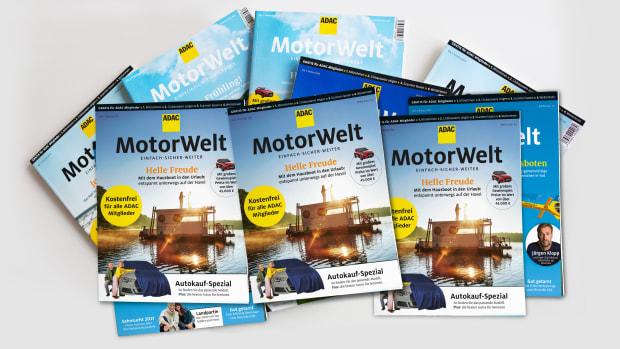 Cover der ADAC Motorwelt Premium