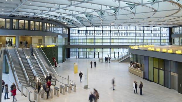 Innenaufnahme der ADAC-Zentrale in München
