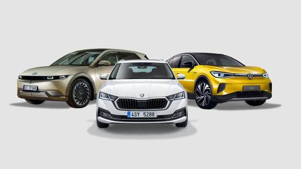 Mitsubishi Outlander, Skoda Octavia, VW ID.4