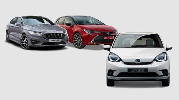 Toyota Corolla, Honda Jazz und VW