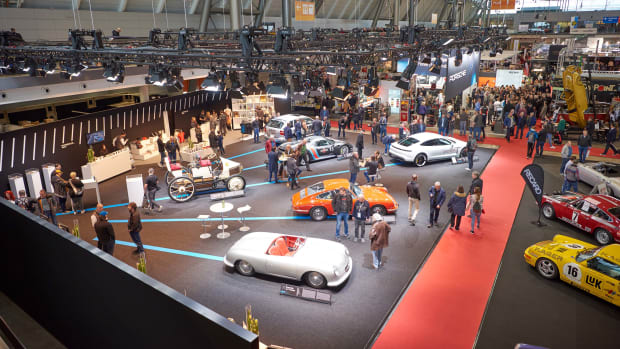 Die Messe Retro Classics  in Stuttgart