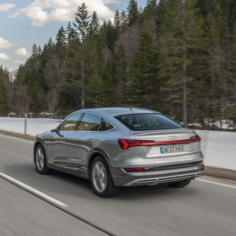 Audi E-tron Sportback: Elektro-SUV Mit 446 Km Reichweite