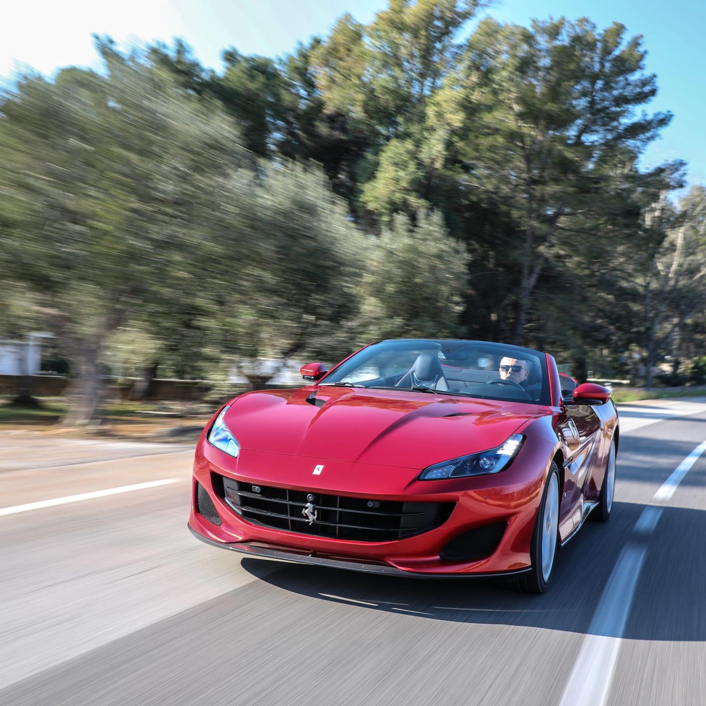 Ferrari Portofino: Ferrari Portofino: Testfahrt Im Super-Cabrio Mit 600 PS