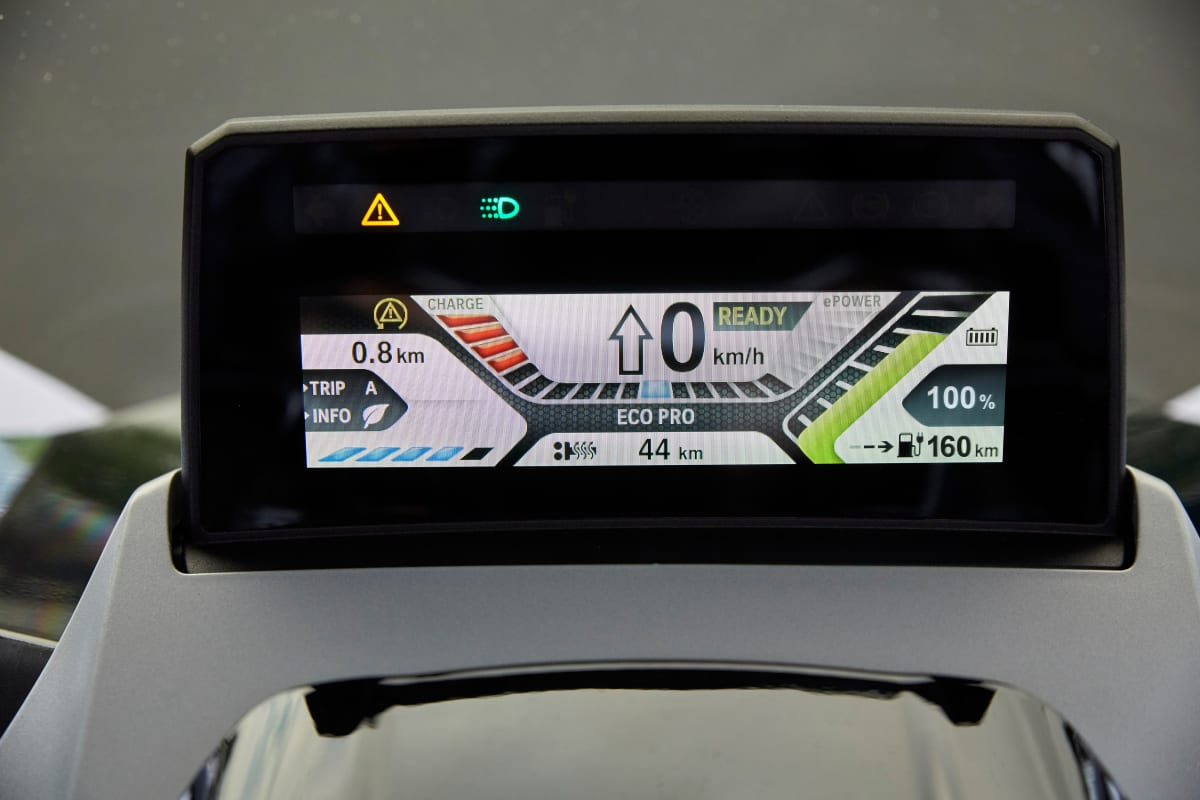BMW C evolution Display