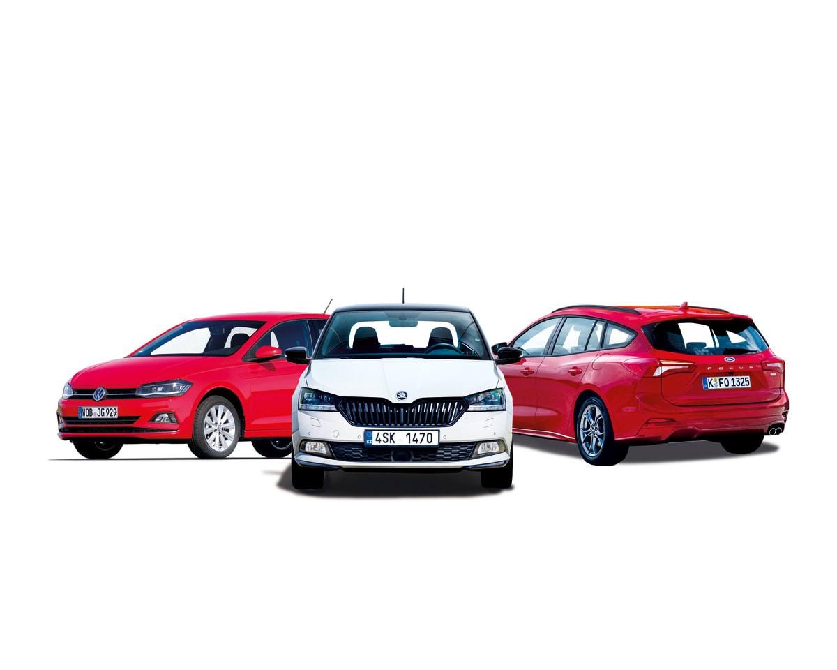 Die drei Autokosten-Sieger der Kategorie Preis-Leistung 2019