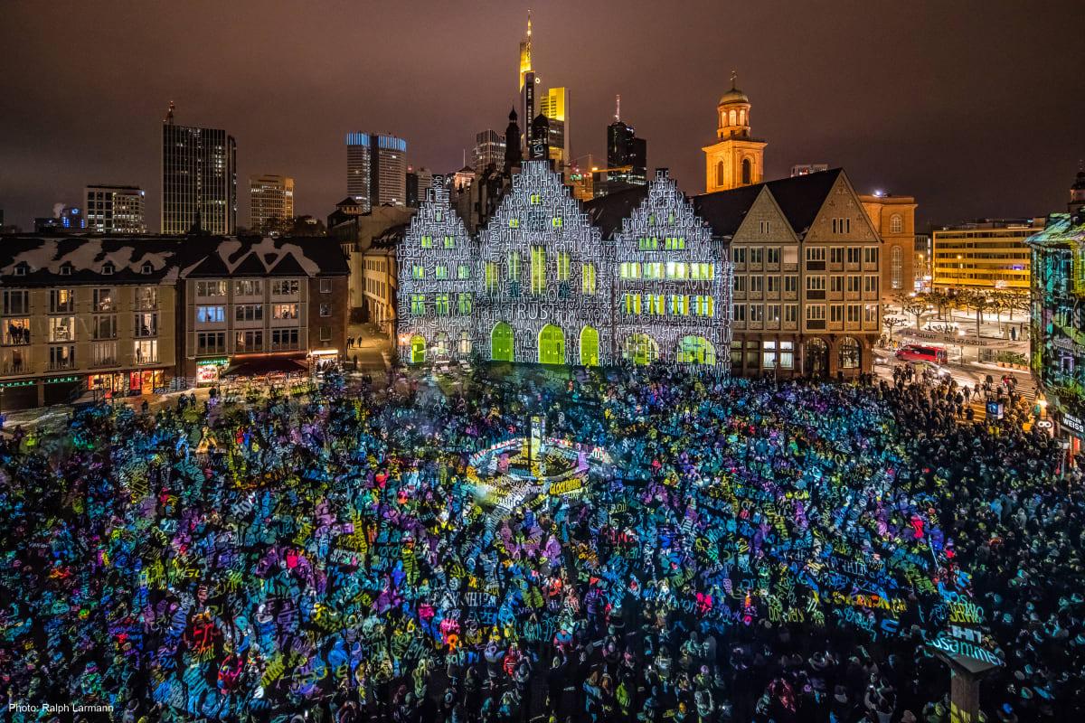 Lichterfest Luminale in Frankfurt am Main