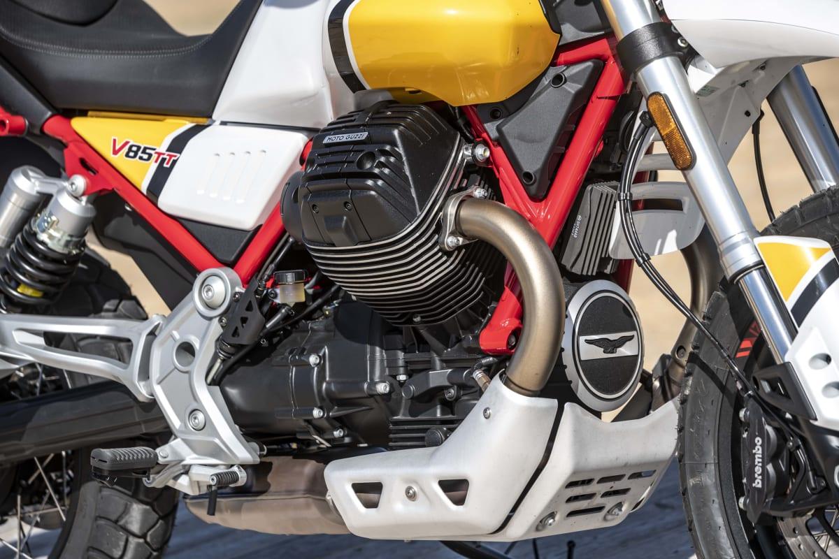 Moto Guzzi V85 TT Motor