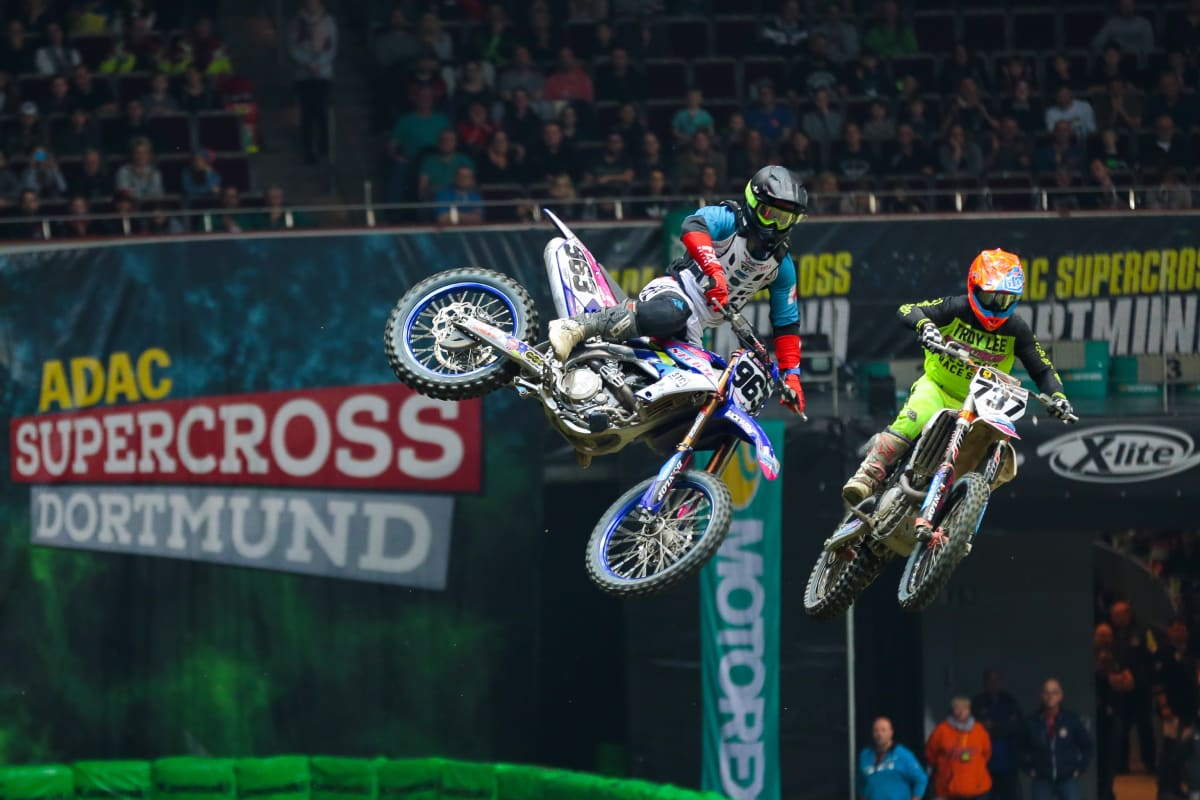 ADAC Supercross in der Westfalenhalle Dortmund